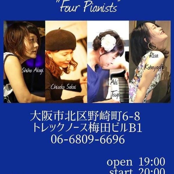 four pianos @ 梅田Always